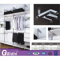 China elegant DIY save spacing shelving systems wardrobe fittings walk in wardrobes closets wholesale