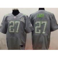China 2014 Pro Bowl Jersey Green Bay Packers 27 Lacy Grey cheap wholesale wholesale