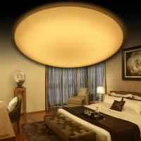 Eye Protection Wireless Ceiling Lamp Simple Installation Versatile For Bedroom / Study