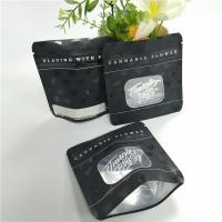 China Gravnre Printing Plastic Zipper Bags , Mylar Weed Stand Up Packaging Pouches wholesale