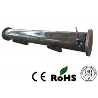 China Loose Flange Sea Water Condenser , Shell Type Heat Exchanger R407c Refrigerant wholesale