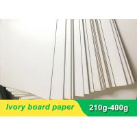Quality Environmental 300gsm Ivory Board Paper cardboard paper sheet for invitation card for sale
