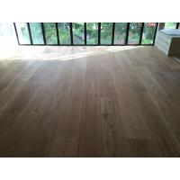 China High quality 300mm wide White Oak Engineered Flooring for Singapore Villa Projects wholesale