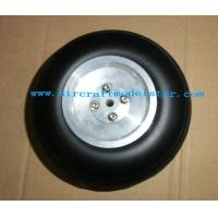 China Pu wheel with Aluminum core,rc model plane,airplane model,balsa wood plane model wholesale
