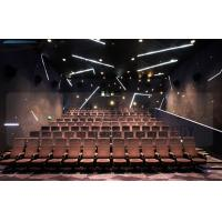 China Large Screen 4D Cinema Equipment Project With Pneumatic Motion Chair wholesale