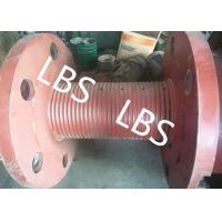 China 3000m Rope Capacity Wire Rope Winch Drum With Helix Groove , ABS GL Listed wholesale