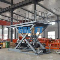 Buy cheap Heavy Duty Hydraulic Scissor Car Lift Table For Home Garage Car Parking Lifting from wholesalers