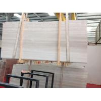 China China Marble White Wood Veins Polished Slabs Guizhou Wood Vein On Sales Good Looking Surface 1.6cm-1.8cm in Stock wholesale