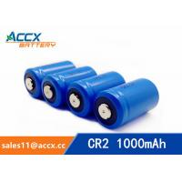 China LiMnO2 CR2 3.0V 1000mAh primary battery with high quality wholesale