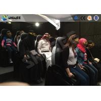China Shopping Mall Motion Ride 5D Movie Theater Movement Chair With 5D Simulator wholesale