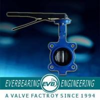 China 125LB Cast Iron Flange End Wafer Butterfly Valve wholesale