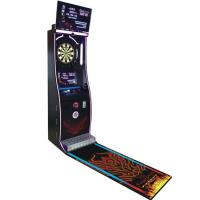 Buy cheap Coin Operated Entertainment Online Dart Games Machine With Dart Game Board from wholesalers