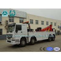 China Hydraulic System Fast Speed Rotatable HOWO Recovery  Truck Low Fuel Consumption wholesale
