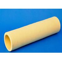 Buy cheap 10mm Thickness Industrial Felt Fabric Yellow Felt Roll Precision Machining Size from wholesalers