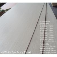 China White Oak Fancy Plywood 1220 x 2440mm wholesale