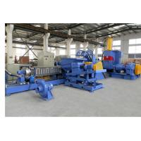 China 1000 - 2000 kg/h Kneader Mixer Plastic Granulator Machine CE IS9001 wholesale