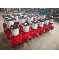 China Pneumatic Actuated Viton Sleeve Slurry Pinch Valve For Mining Application wholesale