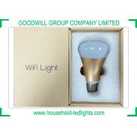 Quality Wifi E27 Household LED Lights 7 Watt Remote Controlled RGBW For Exhibition for sale