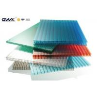 Multi wall Polycarbonate Hollow Sheet  For Bayer Roofing , greenhouses