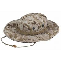 China Quick Dry Military Boonie Hat With String , Army Boonie Cap For Outdoor Sports wholesale