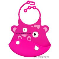 China Adjustable neck Silicone Baby Bib, Custom Silicone Baby Bib wholesale