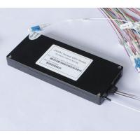 China Low Insertion Loss Athermal AWG Arrayed Waveguide Grating DWDM Fiber Multiplexer wholesale