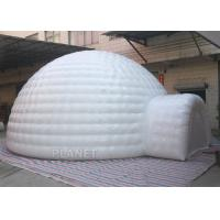 China Giant Inflatable Igloo Tent , White 3.5 M Height Inflatable Outdoor Tent wholesale