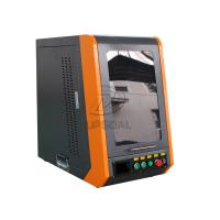 China Closed Type 20W 110*1100mm Fiber Laser Marking Machine for Metal wholesale