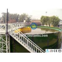 China Customized Glass Lined Water Storage Tanks With Vitreous Enamel Coating on sale
