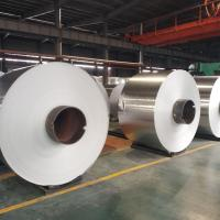 China 8011 Double Sides Coated Aluminum Strip Roll Mill Finish For Food Kitchen wholesale