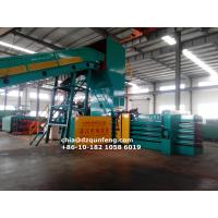 China FDY-1250 Homemade hydraulic fully automatic baling press manufacturer in China wholesale