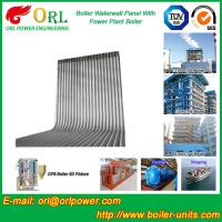 China High Pressure CFB Boiler Water Wall Panels  Water Tube ASME with Certification wholesale
