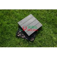 China WPC Non Slip Composite Wood Deck Tiles , 100% Recycle Outdoor Interlocking Deck Tiles wholesale