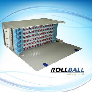China 12 / 48 Port ODF Unit Steel Fiber Patch Panel With Modular Design, 19 Inch Rack Mount on sale