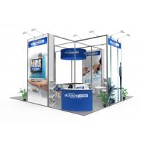 China Aluminum Profile Convention Booth Displays , Modern Trade Show Display Booths wholesale