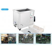 China Econimical Size Ultrasonic PCB Cleaning Machine , 40KHz Industrial Ultrasonic Cleaner on sale
