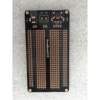 China 1.5mm OPS Black Universal Prototype PCB Board 105 * 55mm Short Circuit Protection wholesale