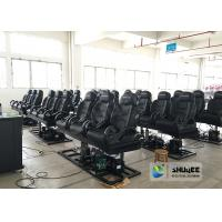 China Special Effects 6D Cinema Equipment With Black And White Design wholesale