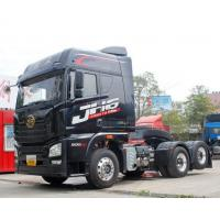 China Black Color Tractor Trailer Truck With 295/80R22.5 Tires And 115km/h Max Speed wholesale