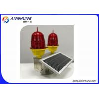 Buy cheap UV Protection Solar Powered Aircraft Warning Lights For Tower Crane from wholesalers