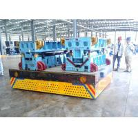 China DC Motor Control Industrial Electric Carts , Push Button Operate Heavy Duty Die Carts wholesale