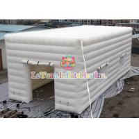 China White Outdoor Inflatable Party Tent Serurity Guarantee EN14960 Certificate wholesale