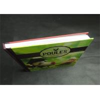 China Eco-friendly Greyboard Hardcover Book Printing Services Embossing 1800gsm wholesale
