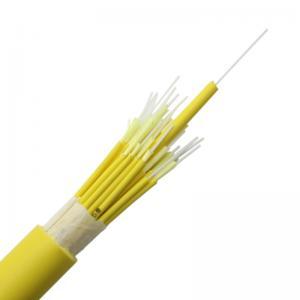 China GJFJV Breakout Om2 48core Optical Fiber Cable LSZH wholesale
