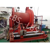 China High Efficient 20 Ton Anchor Marine Electric Winch With Spooling Device wholesale