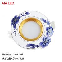 Quality High quality Gold finished 9W LED ceramic LED down light in hotel used for sale