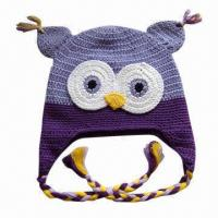 China Hand Crochet Knitted Hat for Children, OEM Orders are Welcome wholesale