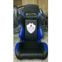 China High Performance Black Racing Seats , Fabric PVC Racing Seat JBR1042 Serise wholesale