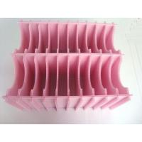 China Pink / Black / Red Eco - Friendly PP Corrugated Fluted Plastic Sheet 1500 x 3500mm wholesale