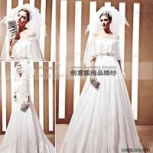 China 2011 custom spring wedding dresses,  designer spring handmade wedding dresses 90020 wholesale
